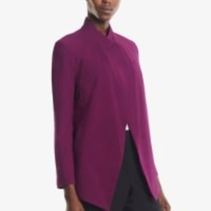 The Oliver Jacket in Deep Plum NWT